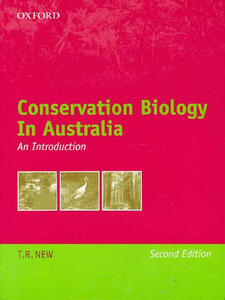 Conservation Biology in Australia: An Introduction - New - cover