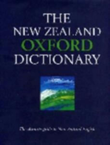 New Zealand Oxford Dictionary - cover