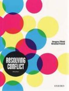 Resolving Conflict - Gregory Tillett,Brendan French - cover