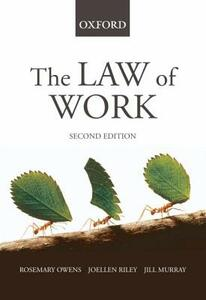 The Law of Work - Rosemary Owens,Joellen Riley,Jill Murray - cover