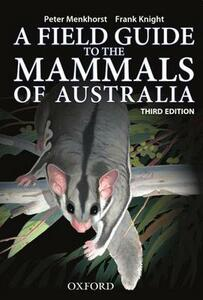 Field Guide to Mammals of Australia - Peter Menkhorst - cover