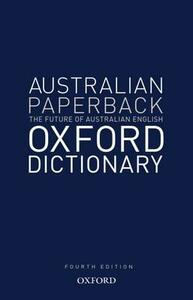 Australian Oxford Paperback Dictionary - Bruce Moore - cover