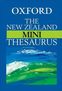 The New Zealand Oxford Mini Thesaurus - cover
