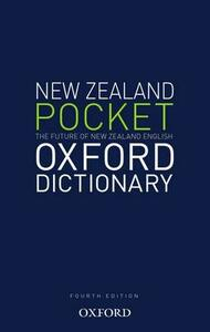 New Zealand Pocket Oxford  Dictionary - Tony Deverson - cover