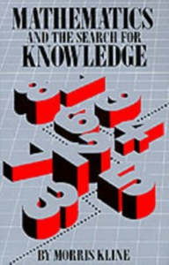 Ebook in inglese Mathematics and the Search for Knowledge Kline, Morris