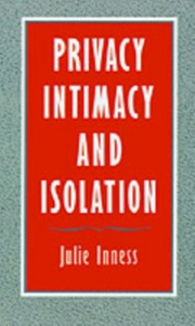 Ebook in inglese Privacy, Intimacy, and Isolation Inness, Julie