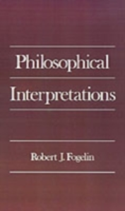 Ebook in inglese Philosophical Interpretations Fogelin, Robert J.