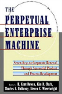 Ebook in inglese Perpetual Enterprise Machine: Seven Keys to Corporate Renewal through Successful Product and Process Development Bowen, H. Kent , Clark, Kim B. , Holloway, Charles A. , Wheelwright, Steven C.