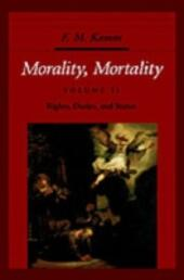 Morality, Mortality: Volume II: Rights, Duties, and Status