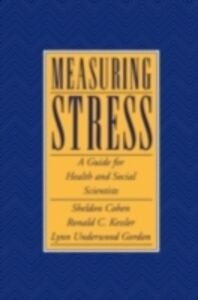 Ebook in inglese Measuring Stress: A Guide for Health and Social Scientists -, -