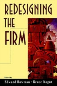 Ebook in inglese Redesigning the Firm -, -