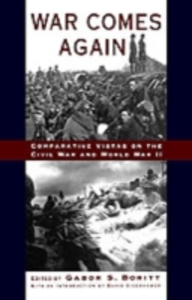 Ebook in inglese War Comes Again: Comparative Vistas on the Civil War and World War II -, -