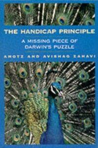 Foto Cover di Handicap Principle: A Missing Piece of Darwin's Puzzle, Ebook inglese di Amotz Zahavi,Avishag Zahavi, edito da Oxford University Press