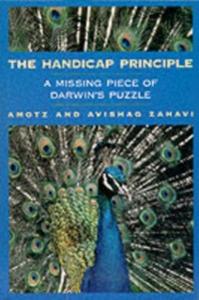 Ebook in inglese Handicap Principle: A Missing Piece of Darwin's Puzzle Zahavi, Amotz , Zahavi, Avishag