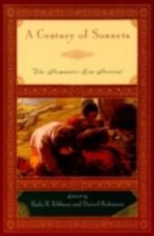 Century of Sonnets: The Romantic-Era Revival, 1750-1850