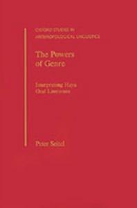 Ebook in inglese Powers of Genre: Interpreting Haya Oral Literature Seitel, Peter
