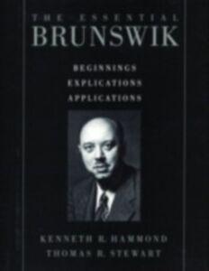 Foto Cover di Essential Brunswik: Beginnings, Explications, Applications, Ebook inglese di  edito da Oxford University Press