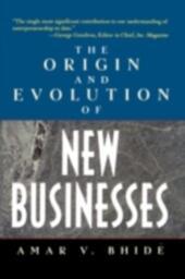Origin and Evolution of New Businesses