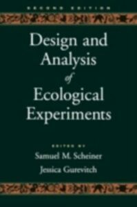 Ebook in inglese Design and Analysis of Ecological Experiments -, -