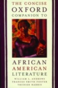 Ebook in inglese Concise Oxford Companion to African American Literature