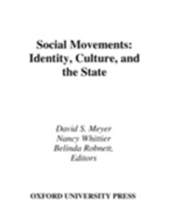 Ebook in inglese Social Movements: Identity, Culture, and the State