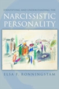 Ebook in inglese Identifying and Understanding the Narcissistic Personality Ronningstam, Elsa F.