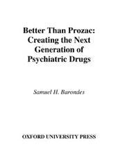 Better than Prozac