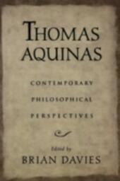 Thomas Aquinas: Contemporary Philosophical Perspectives