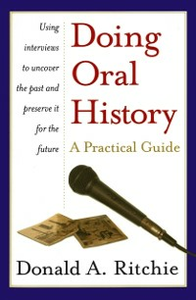 Ebook in inglese Doing Oral History 2/e Ritchie, Donald A.