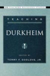 Ebook in inglese Teaching Durkheim -, -