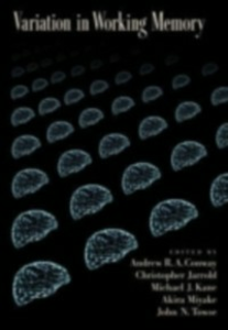 Ebook in inglese Variation in Working Memory A, CONWAY ANDREW R.