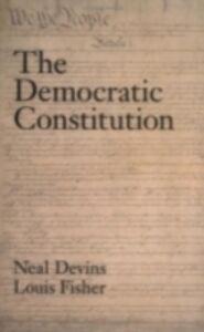 Foto Cover di Democratic Constitution, Ebook inglese di Neal Devins,Louis Fisher, edito da Oxford University Press