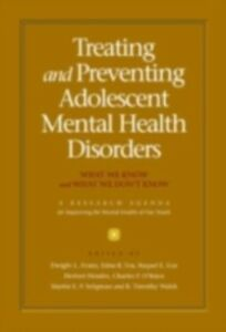 Foto Cover di Treating and Preventing Adolescent Mental Health Disorders: What We Know and What We Don't Know, Ebook inglese di  edito da Oxford University Press