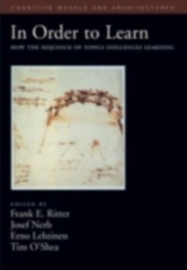 Ebook in inglese In Order to Learn: How the Sequence of Topics Influences Learning -, -