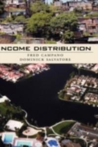 Ebook in inglese Income Distribution: Includes CD Campano, Fred , Salvatore, Dominick
