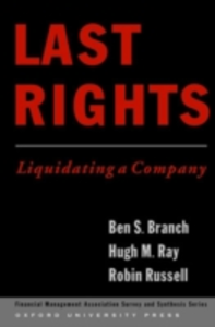 Ebook in inglese Last Rights: Liquidating a Company Branch, Ben , Ray, Hugh , Russell, Robin