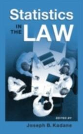Statistics in the Law: A Practitioner's Guide, Cases, and Materials