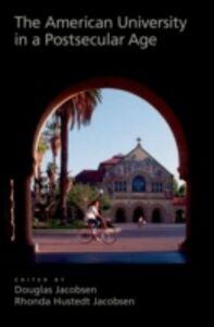 Foto Cover di American University in a Postsecular Age, Ebook inglese di  edito da Oxford University Press