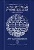 Libro in inglese Mensuration and Proportion Signs: Origins and Evolution Anna Maria Busse Berger
