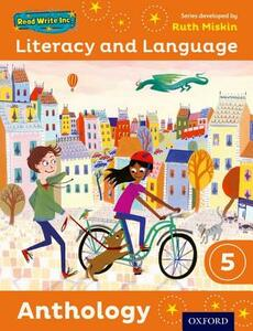 Read Write Inc.: Literacy & Language: Year 5 Anthology - Ruth Miskin,Janey Pursgrove,Charlotte Raby - cover