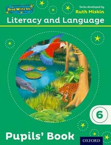 Read Write Inc.: Literacy & Language: Year 6 Pupils' Book - Ruth Miskin,Janey Pursgrove,Charlotte Raby - cover