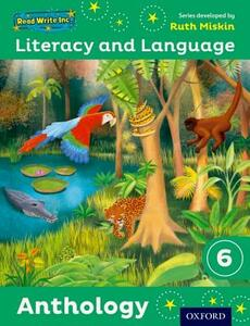 Read Write Inc.: Literacy & Language: Year 6 Anthology - Ruth Miskin,Janey Pursgrove,Charlotte Raby - cover