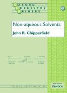 Non-Aqueous Solvents - John R. Chipperfield - cover