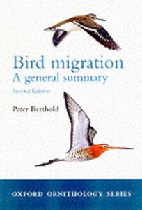 Bird migration: A General Survey - Peter Berthold - cover