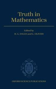 Truth in Mathematics - cover