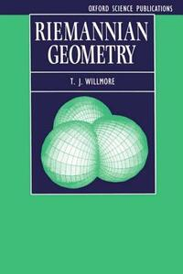 Riemannian Geometry - T. J. Willmore - cover