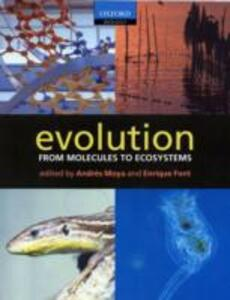 Evolution: From Molecules to Ecosystems - cover