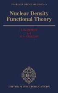 Nuclear Density Functional Theory - I. Zh. Petkov,M.V. Stoitsov - cover