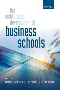 The Institutional Development of Business Schools - cover