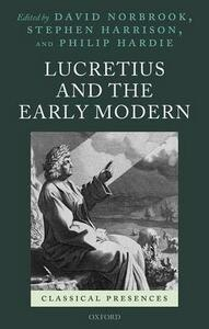 Lucretius and the Early Modern - cover